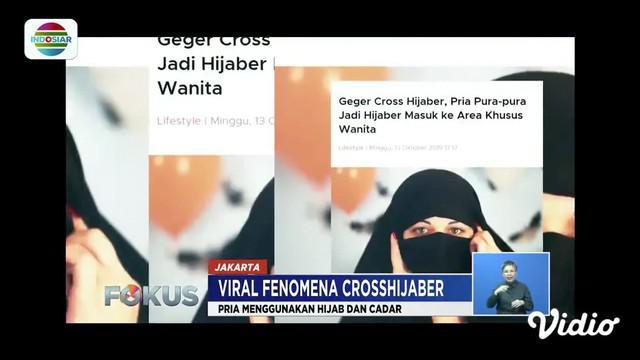 Kehadiran crosshijaber atau laki-laki yang menggunakan pakaian menyerupai wanita muslimah ini kerap meresahkan banyak pihak. Ruang gerak wanita di tempat umum yang tertutup mejadi terbatas.