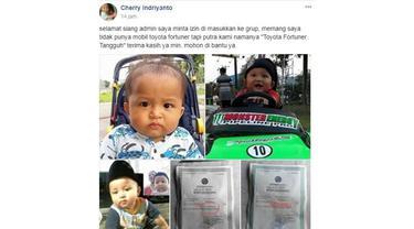 Bayi bernama Toyota Fortuner Tangguh