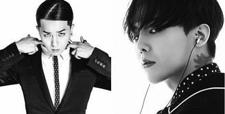 Siapa yang menyangka jika G-Dragon dan Mino Winner punya wajah yang mirip. Mau dari sisi manapun, kedua pria tampan ini terlihat mirip. (Foto: Bintang Pictures)