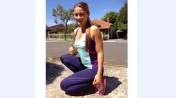 Gronya Somerville lahir di Melbourne, Australia pada tanggal 10 Mei 1995. (Bola.com/Instagram/Gronyasomerville)