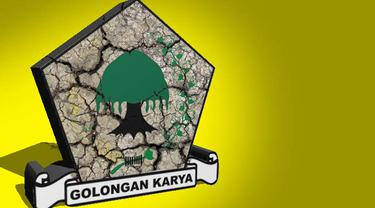 Ilustrasi Partai Golkar di Surabaya