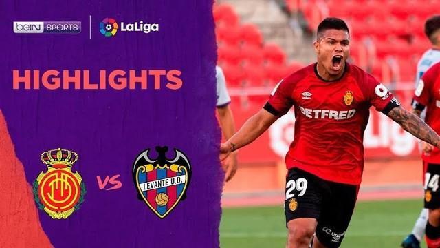 Berita video melihat gol keempat pemain Jepang, Takefusa Kubo, di La Liga 2019-2020 dalam highlights kemenangan Mallorca atas Levante 2-0, Jumat (10/7/2020) dini hari WIB.