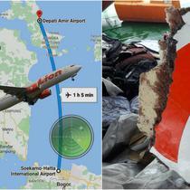 Pesawat Lion Air JT 610 jatuh di Teluk Karawang pada Senin 29 Oktober 2019 (Dok. Basarnas)