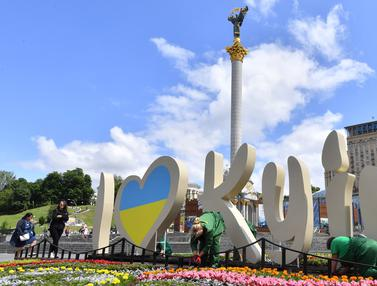 Kesibukan Kota Kiev Jelang Final Liga Champions 2018