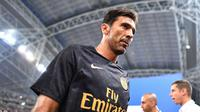 Gianluigi Buffon pada International Champions Cup 2018 di Singapura. (ICC Singapore 2018 via Getty)