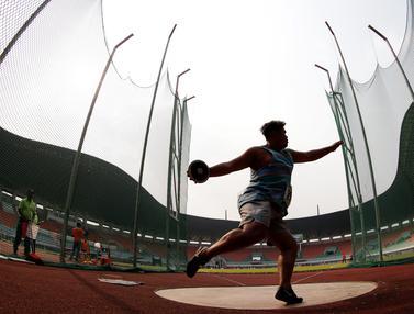 FOTO: Beradu Untuk Jadi yang Terbaik di Kejurnas Atletik