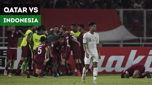 Berita video highlights Piala AFC U-19 2018, Qatar vs Timnas Indonesia yang berakhir dengan skor 6-5 di Stadion Utama Gelora Bung Karno (SUGBK), Senayan, Jakarta, Minggu (21/10/2018).