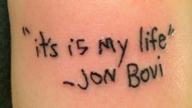 Bikin Ngakak 5 Potret Tatto Ini Bikin Warganet