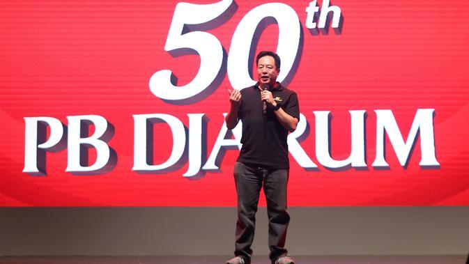 President Director Djarum Foundation, Victor R Hartono, bertekad untuk terus membantu Indonesia berprestasi di dunia bulutangkis. (PB Djarum/Edward Luhukay)
