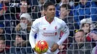 Video highlights gol Roberto Firmino membuat Liverpool menyamai skor menjadi 1-1 melawan Crystal Palace, pada Minggu (06/03/2016).