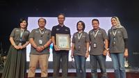 Forum Contact Center Annual Summit 2019 di Annex Building, Jakarta, Senin (25/11).