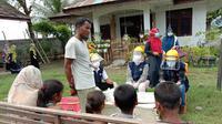 PMI Beri Bantuan ke Imigran Rohingya di Aceh Utara. (foto: dokumentasi PMI)