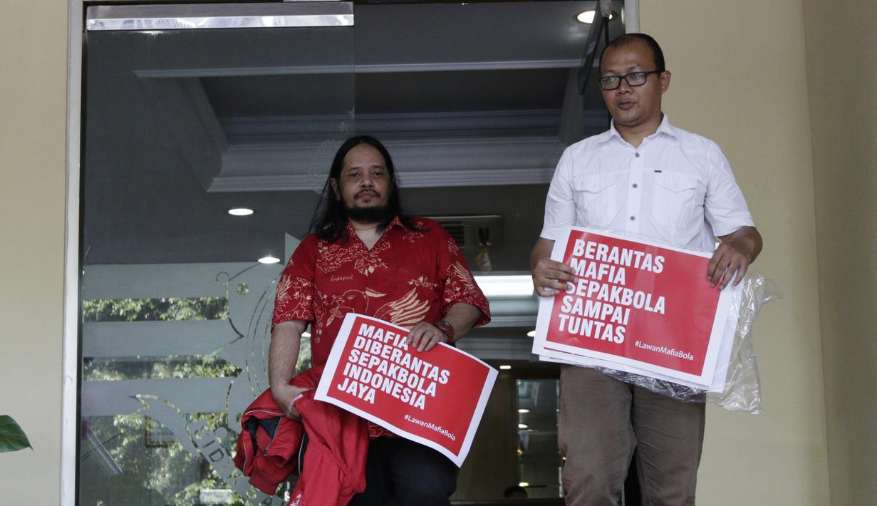 FOTO  Indonesia Football Community Dukung Polri Berantas Mafia Bola ... d1a62ed6d5c6c