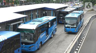 Transjakarta Targetkan Semua Armada Gunakan Bus Listrik