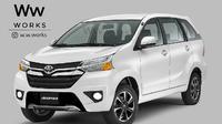 Rendering Toyota Avanza (Foto: Instagram @w.w.works)