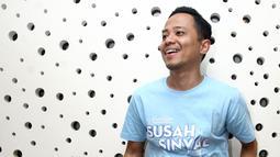 Komika kelahiran Jakarta 34 tahun silam itu menyaksikan langsung Ge saat menyinggung soal banjir Jakarta. Menurutnya, ia tak melihat adanya dugaan penistaan agama. (Nurwahyunan/Bintang.com)