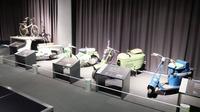 Mitsubishi Auto Gallery Museum juga menampilkan deretan sepeda motor buatan Mitsubishi. (Septian/Liputan6.com)