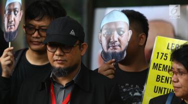 Peringatan 500 Hari Penyerangan Novel Baswedan Digelar di KPK