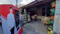 Kampanye virtual Calon Wali Kota Solo Gibran Rakabuming Raka. (Liputan6.com/ Fajar Abrori)