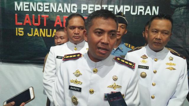 TNI AL Pantau Bawah Laut GAK