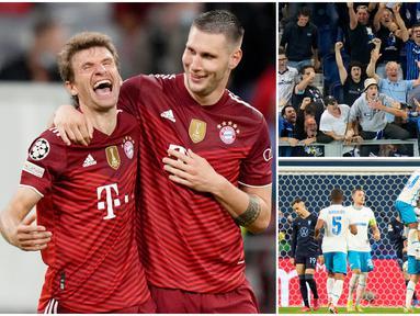 Bayern Munchen tampil perkasa saat menjamu Dynamo Kiev di Matchday 2 Liga Champions. Die Roten menang dengan lima gol tanpa balas. Sementara itu, Atalanta yang tampil di depan pendukungnya sendiri sukses menekuk Young Boys dengan skor tipis 1-0.