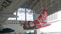 Inilah livery baru pesawat AirAsia dengan tema game TAGG yang dikeluarkan oleh Sixcap, perusahaan keuangan asal Singapura, Kamis (15/12/2016)