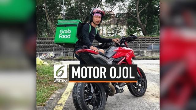 Seorang driver ojek online bernama Herry Sevani menggunakan moge atau motor gede yang mewah untuk mengantarkan pesanan. Jenis motornya adalah Ducati Hypermotard 950, harganya diperkirakan mencapai Rp 250 juta.