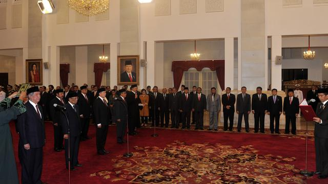 Pimpinan DPR RI menerima 3 anggota Dewan Pertimbangan Presiden (Wantimpres). Ketiganya adalah Suharso Monoarfa, Subagyo HS dan Rusdi Kirana.