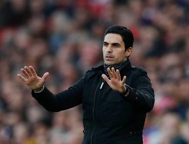 Pelatih Arsenal Mikel Arteta Positif Virus Corona COVID-19