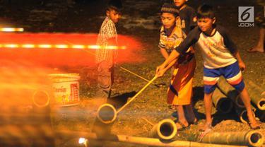 Bledugan, Tradisi Anak-Anak Bogor Menyambut Idul Fitri