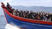 Imigran ilegal Rohingya, Myanmar. (Reuters)