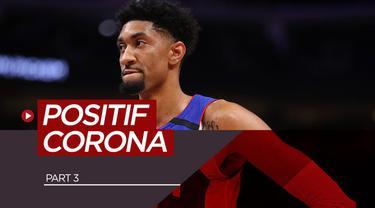 Berita video 7 atlet profesional yang positif terjangkit virus corona. Salah satunya adalah pebasket Detroit Pistons, Christian Wood.