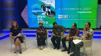 Talkshow di SBO, televisi lokal Surabaya seputar Pesona Danau Toba.