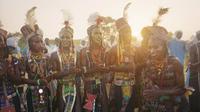 Festival Gerewol merupakan kontes rebut istri orang di Afrika. (Sumber: cntraveller)