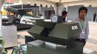 Indonesia telah mempunyai teknologi yang mampu membuat senjata tempur yang dipakai militer bisa dikendalikan lewat remote control