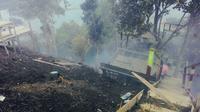 Kebakaran di kawasan Raja Ampat Kampar, Ulu Kasok, merupakan kali kedua dalam dua bulan terakhir. (Liputan6.com/M Syukur)