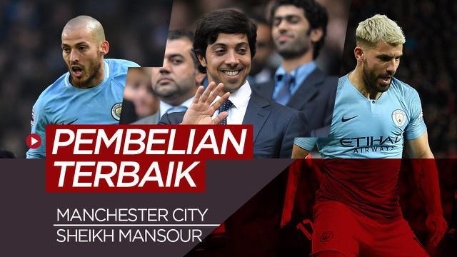 Berita video 10 pembelian pemain terbaik Manchester City di era Sheikh Mansour.