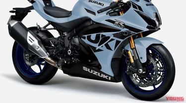 Warna baru Suzuki GSX-R 1000R ABS 2021