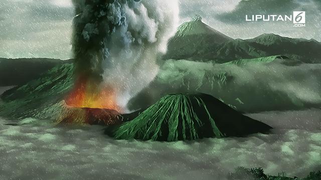 Sejarah Letusan Gunung Bromo News Liputan6 Com