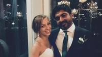 Maria Galitzine bersama suami Rishi Shing (Dok.Facebook./Ntv)
