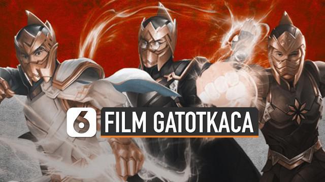Film superhero terbaru, Satria Dewa Gatotkaca telah umumkan beberapa pemainnya.