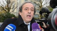 Presiden UEFA, Michel Platini. (AFP/Fabrice Coffrini)