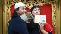 Akad Nikah Ria Irawan - Mayky (Adrian Putra/bintang.com)