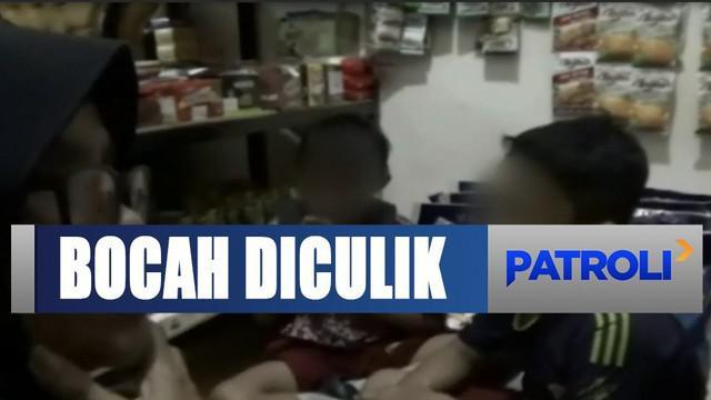 Pemilik toko tak menyangka ditipu, sebab saat mengambil beras pelaku mengaku menitipkan 2 adiknya itu untuk jadi jaminan.