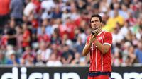4. Mats Hummels (Jerman) - Bayern Munchen. (AFP/Christof Stache)