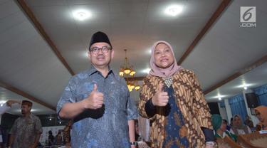 Pasangan Cagub Sudirman Said-Ida Fauziah Daftar Pilkada Jateng