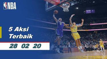 Berita Video 5 Aksi Terbaik NBA 28 Februari 2020