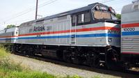 Ilustrasi kereta api Amtrak. (dok. Wikimediaimages/Pixabay/Tri Ayu Lutfiani)