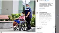 Unggahan terakhir Ani Yudhoyono di Instagram (Liputan6.com/ Agustin Setyo W)