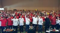 Timses Jokowi-Ma'ruf targetkan raih 80% suara di Sulut. (Liputan6.com/Putu Merta Surya Putra)